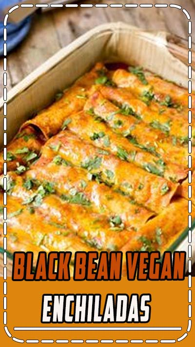 These black bean vegan enchiladas are packed with complex flavors, plenty of nutrition and antioxidants from the black beans, tomatoes, and garlic, et al.