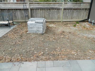 the danforth garden design before by garden muses--not another Toronto gardening blog