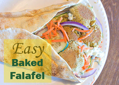 Easy Baked Falafel (Chickpea Patties)