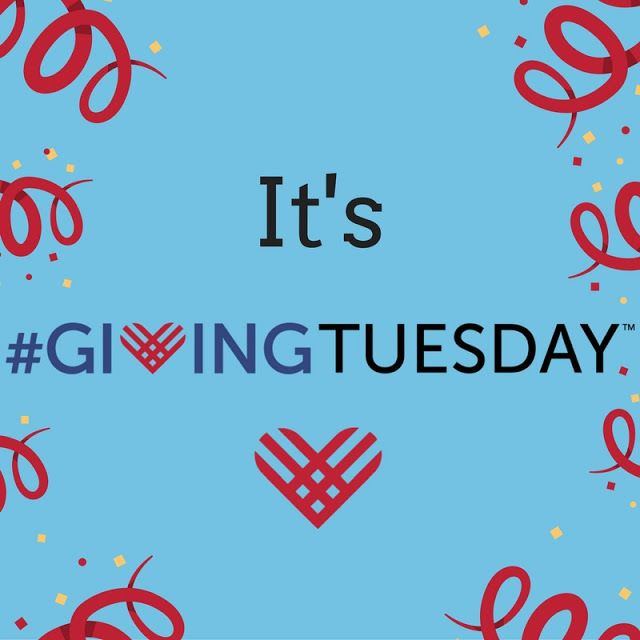 It's #GivingTuesday 2019