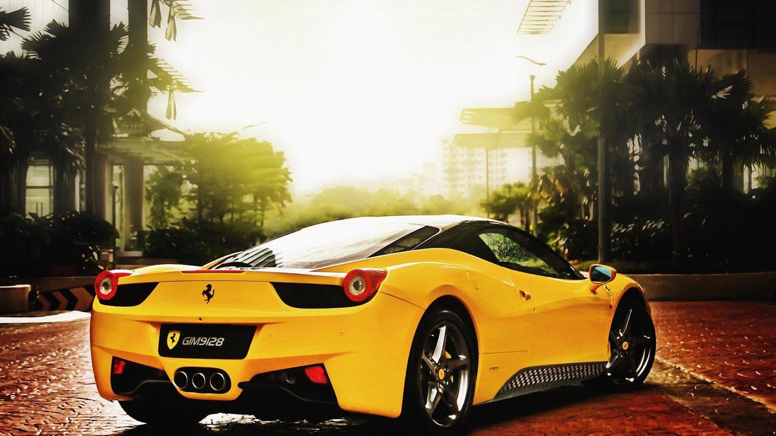 Ferrari Wallpaper Hd 1080P