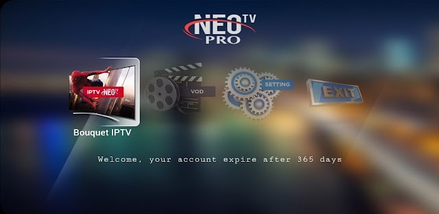 NEO TV PRO 2 ANDROID APPLICATION AVEC CODE ACTIVATION