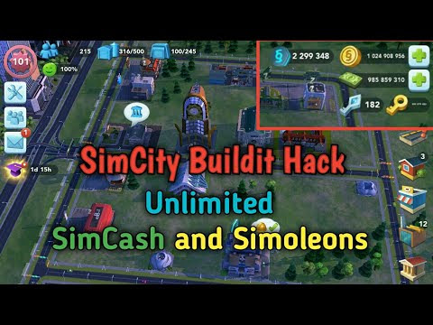 Get Simcity BuildIt Unlimited Simoleons & SimCash For Free! 100% Working [October 2020]