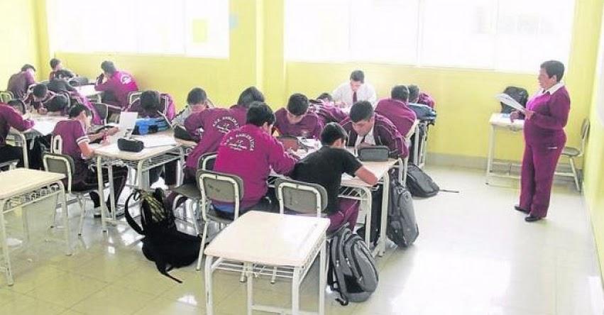 Recuperación de clases no se daría en domingos, informó el MINEDU - www.minedu.gob.pe