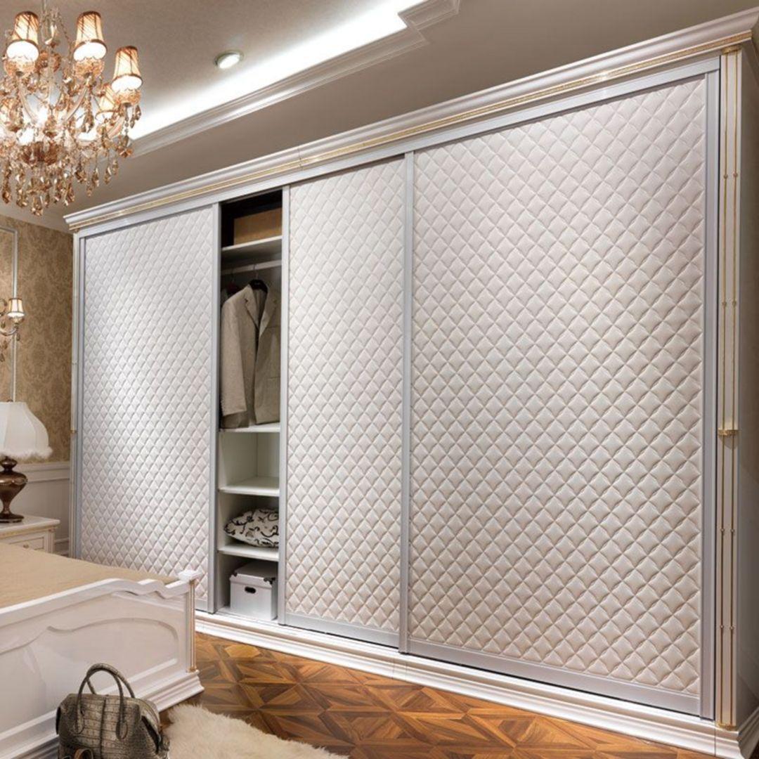 Phòng ngủ có tủ âm tường 5