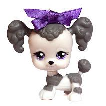 Littlest Pet Shop Tubes Poodle (#292) Pet