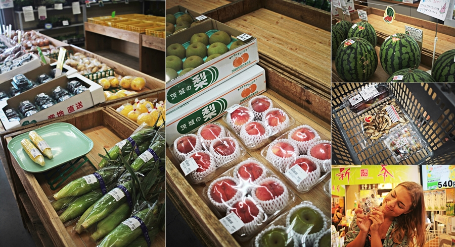 farm market japan fresh organic vegan food