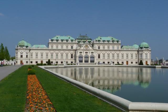 Wenen Belvedere Bovenpaleis