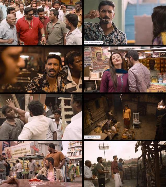 Maari 2015 UNCUT Dual Audio Hindi 720p HDRip
