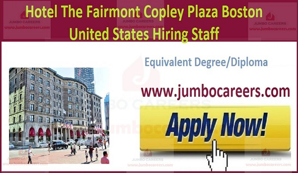 Available hotel jobs,