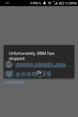 """Lockdown Pro: fitur """"fake cover"""" akan menampilkan pesan error pada aplikasi yang dikunci"""