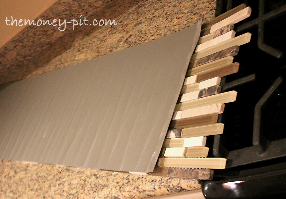 Make Sure Your Tile Mat Is Upside Down When Marking The Holes