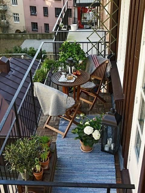 Dekorasi Balkon Cantik Ala Eropa