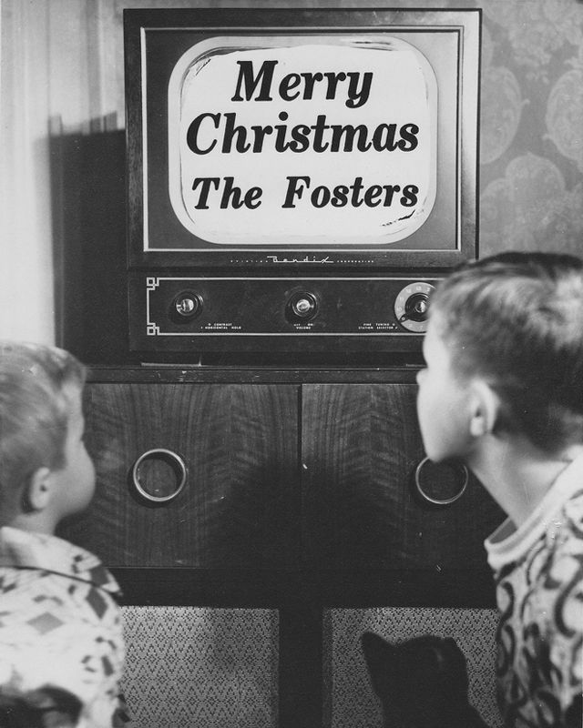 Create A Feeling Of Nostalgia: 18 Vintage Christmas Photos From The 1940s And 1950s That