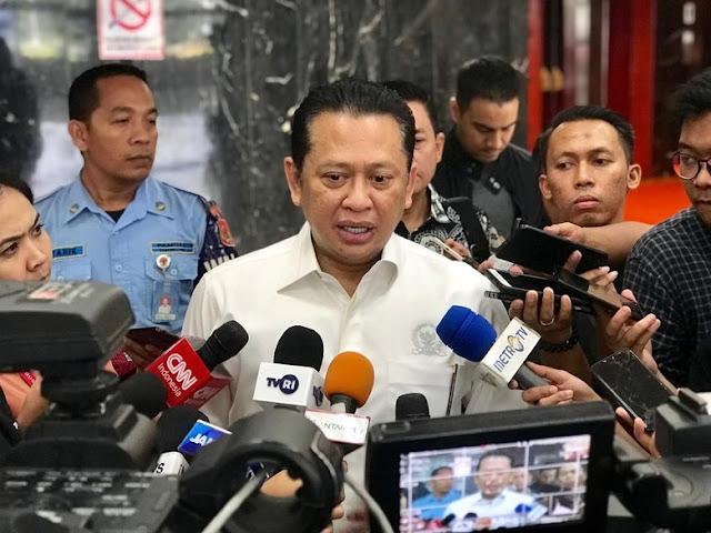 Golkar ajukan nama Bamsoet sebagai Ketua MPR