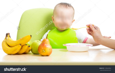 bubur buah bayi