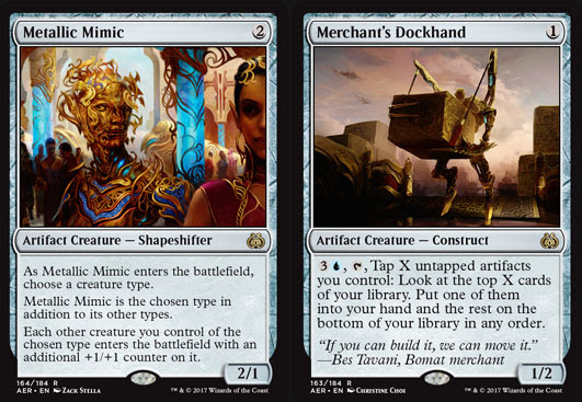 Magic The Gathering Adventures Aether Revolt Review Artifacts