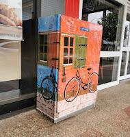 Goulburn Street Art | NBN Box by Virginia Arregui