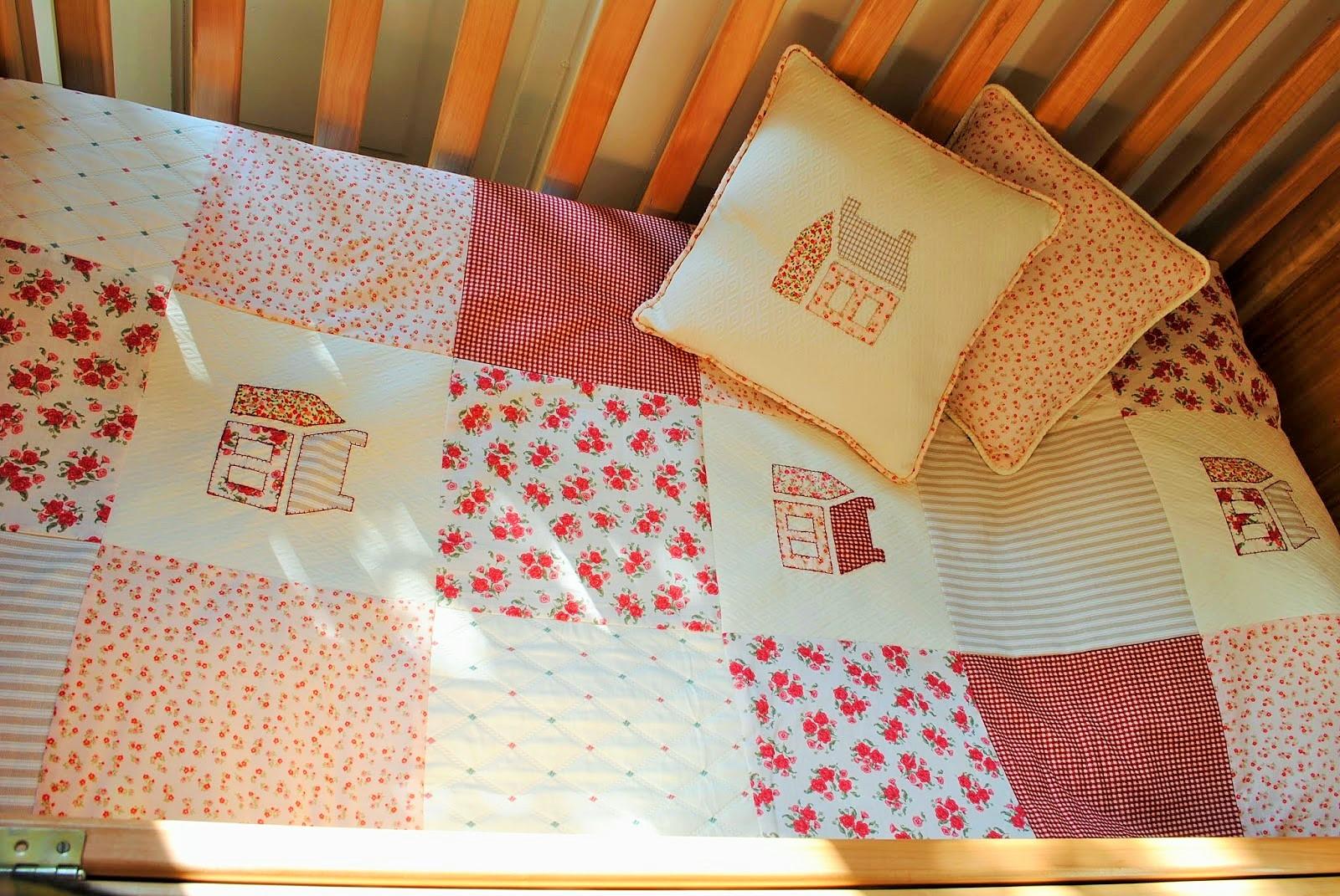 Paz montealegre decoraci n juego de cuna para una ni ita - Juego de cama para cuna ...