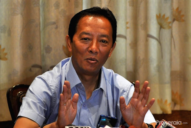 Gorkha Janmukti Morcha (GJM) president Binay Tamang