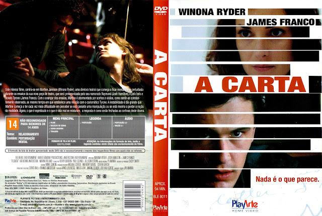 Capa DVD A Carta