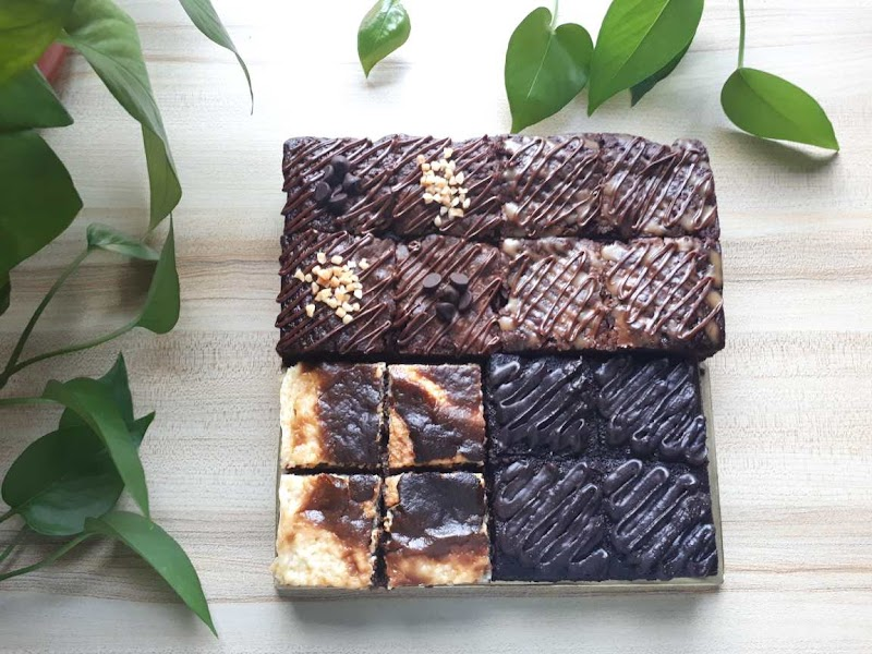 Kek Coklat Gebu dan Brownies Sedap dari Bake2Bites