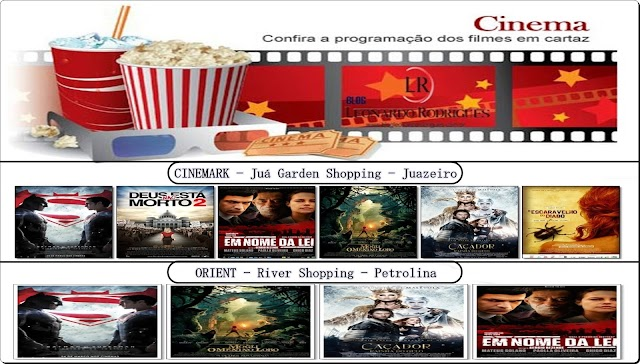 FILMES DA SEMANA - 21/04 A 27/04