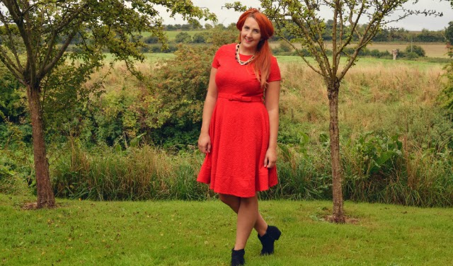 red-statement-dress