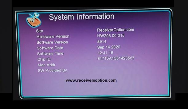 Gx6605s F1, F2 Hw203.00.015 Hd Receiver New Software