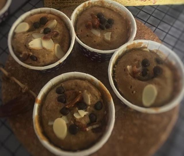 Resep cinamon cup cake kurma
