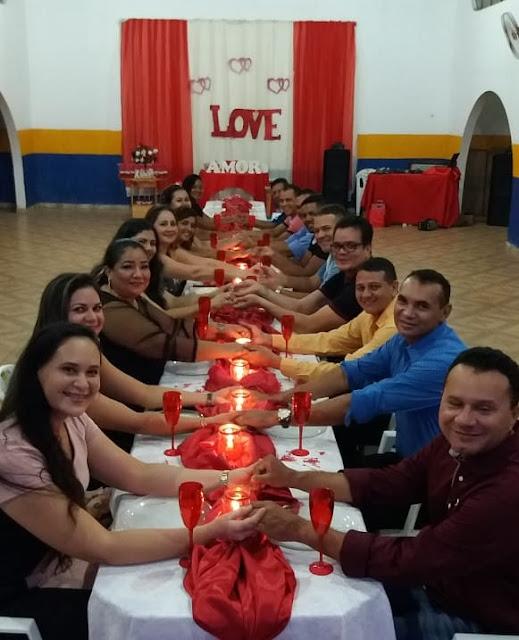 Comando do Corpo de Bombeiros comemora Dia dos Namorados