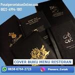 Cetak Cover Buku Vinyl 085867642723 sampul emboss emas
