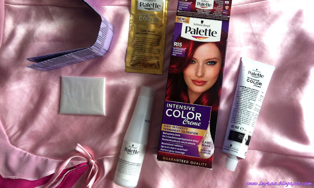 Palette Intensive Color Creme Intensywna Rubinowa Czerwień R15