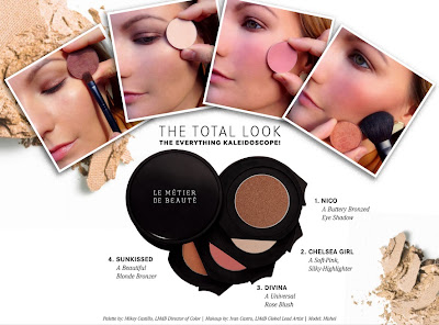 Best Things in Beauty: Le Métier de Beauté The Total Look Kaleidoscope Face Kit for Holiday 2013