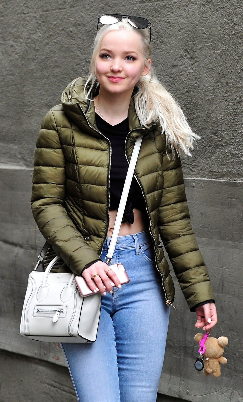 Dove Cameron out street look