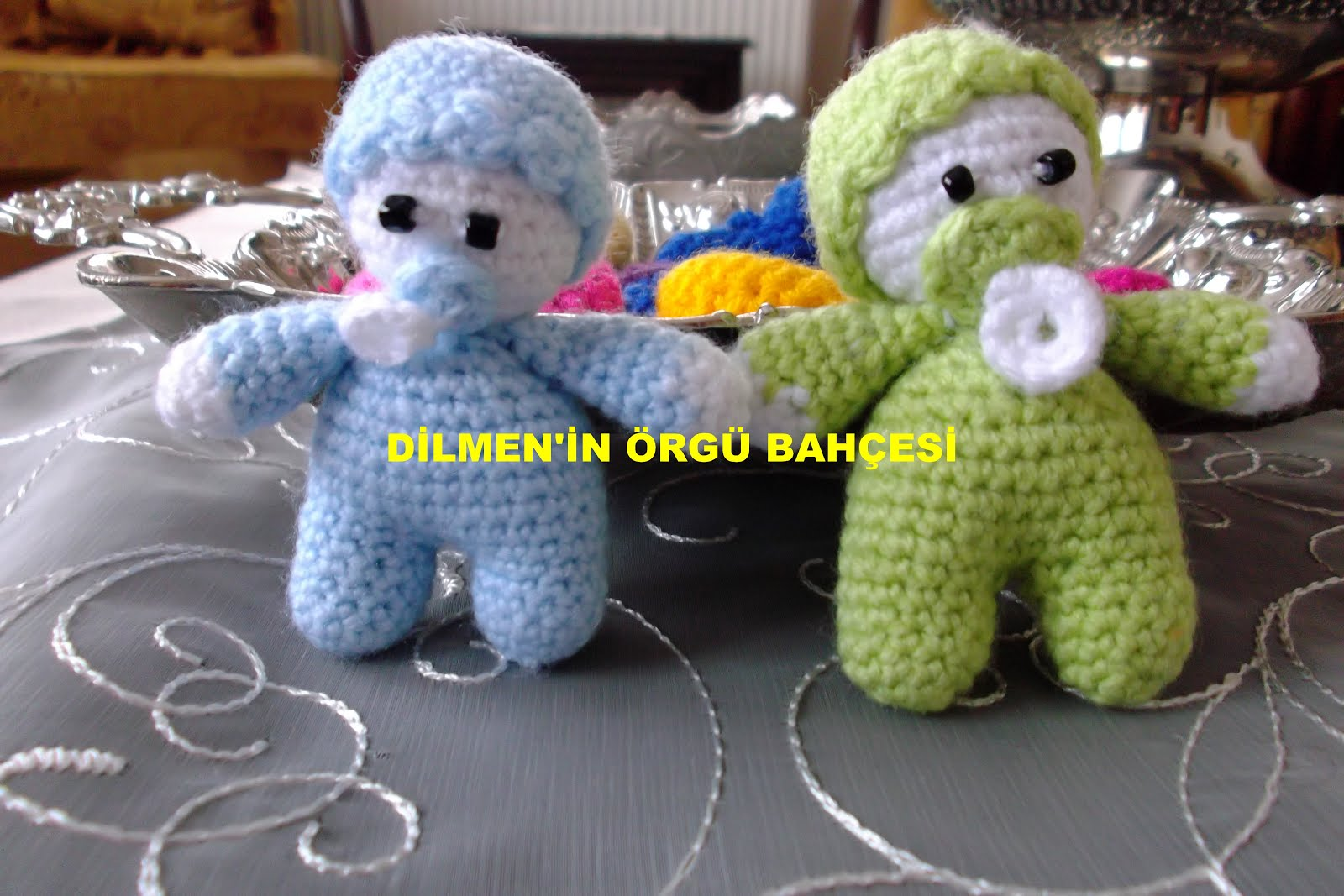 Bebek Anahtarlık Tarifi / Baby Keychain Pattern | Amigurumi ... | 1067x1600