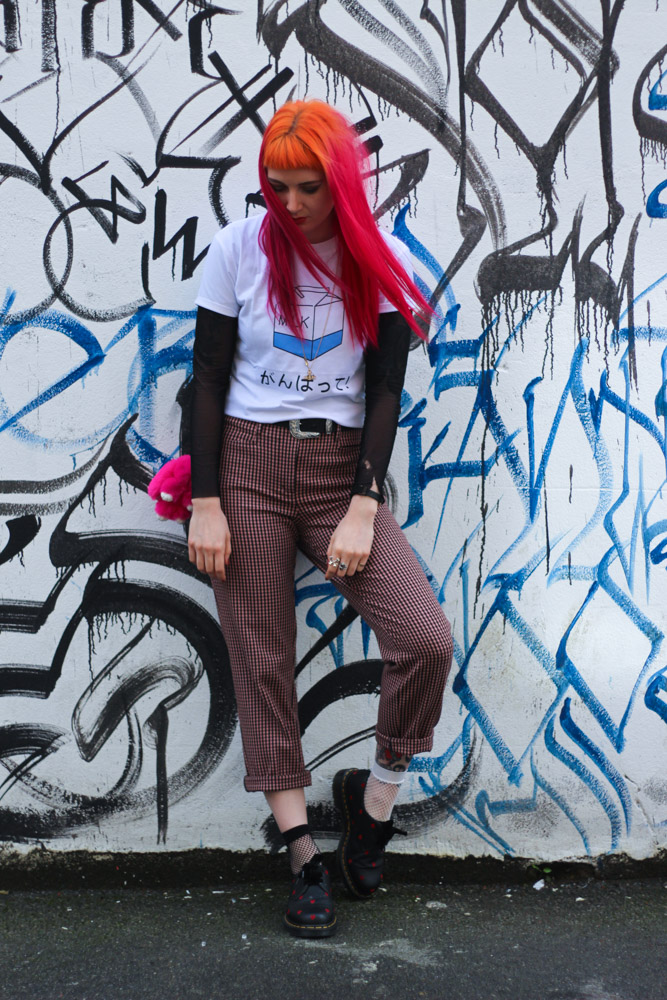 Alternative Style Blogger Foxxtailz Styles Romwe