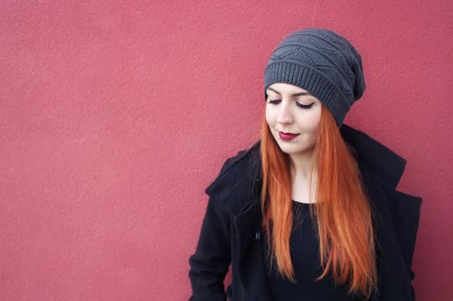 onlajn kupovina, online shop, rosegal iskustvo, studentica, crvena kosa, narancasta kosa, ginger, blogerica, stil, moda, snakebites pirsing, pirsevi, pierced girl, plave oci, blijeda put, kapa, beanie