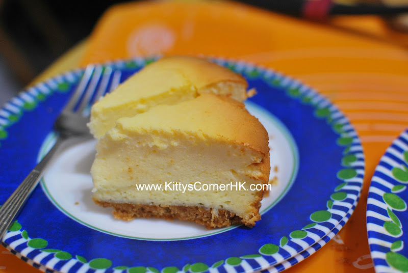 Baked Blueberry Cheese Cake DIY recipe 香烤藍莓芝士蛋糕 自家烘焙食譜