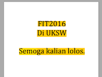 Writeup CTF FIT Competition UKSW 2016 - Selamat Datang (Stegano)