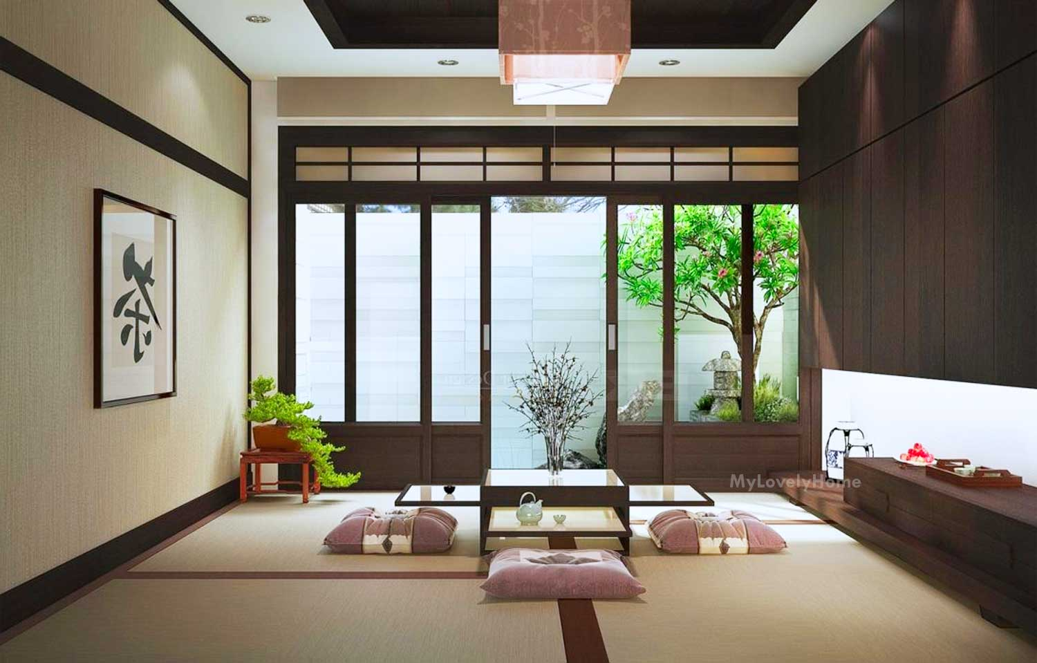 Japanese Interior Design Concept Ideas