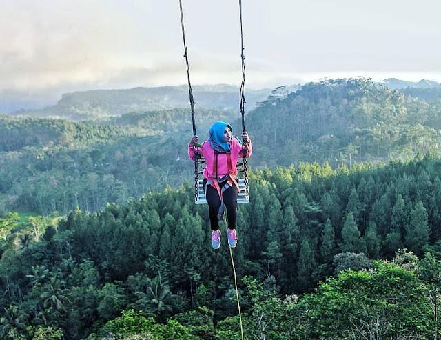Lokasi dan Harga Tiket Ayunan Langit Watu Jaran Kulon Progo