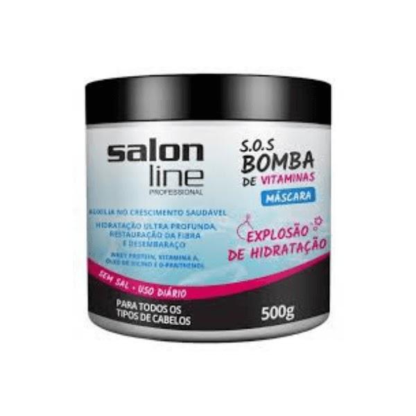 Máscara SOS Bomba de Vitaminas Salon Line