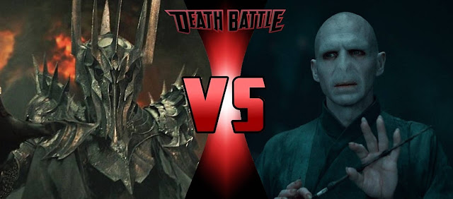 Voldemort đọ sức Morgoth