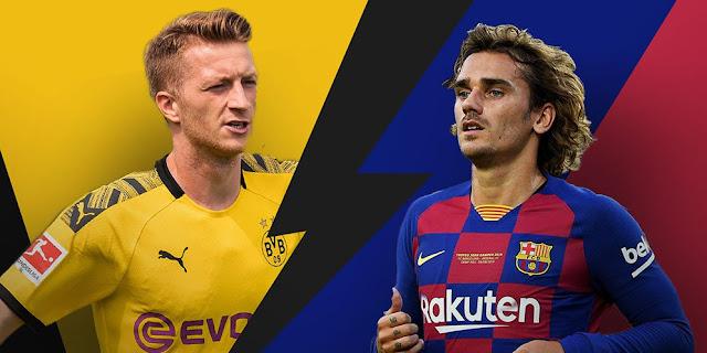 Prediksi Borussia Dortmund vs Barcelona Liga Champions