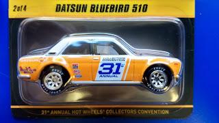 Hot Wheels Convention Datsun   510