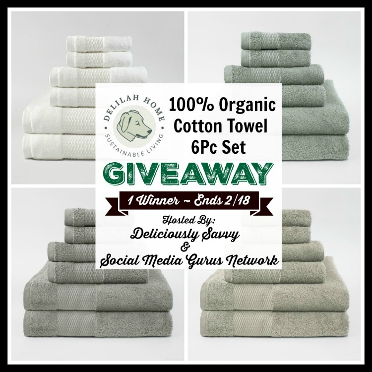 Delilah Home Organic Towel Giveaway
