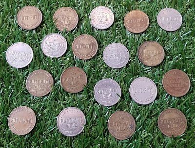 Putt-Putt tokens from the USA