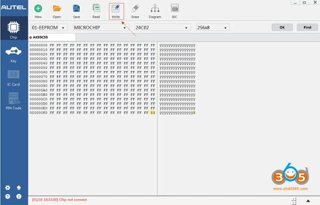 autel-XP400-write-chip-1