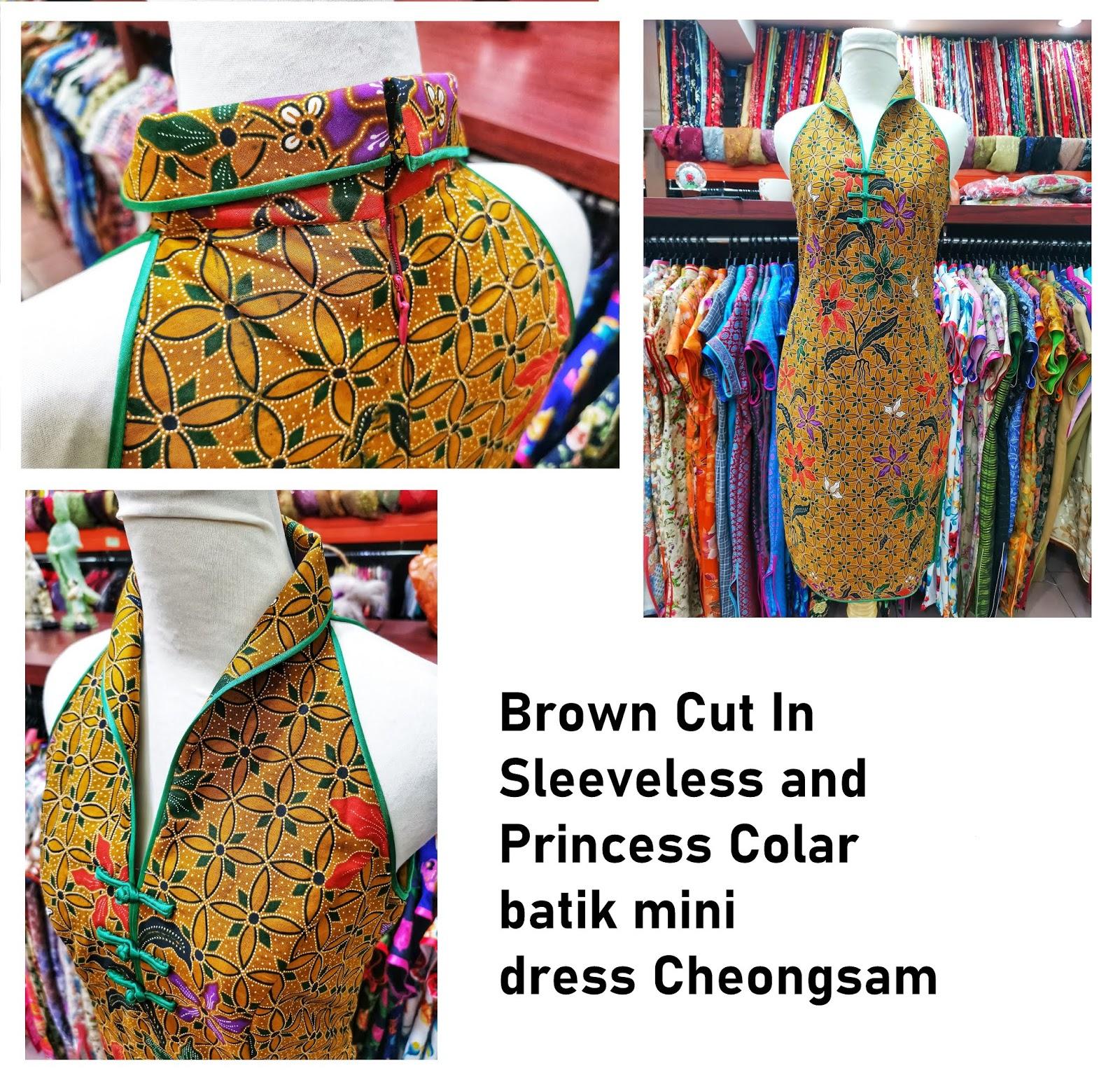 Batik Series By Emerald Brilliant Cheongsam Boutique 鑫碧旗袍